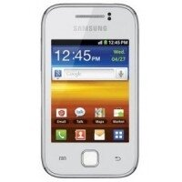 Samsung S5360 Galaxy Y Pure White